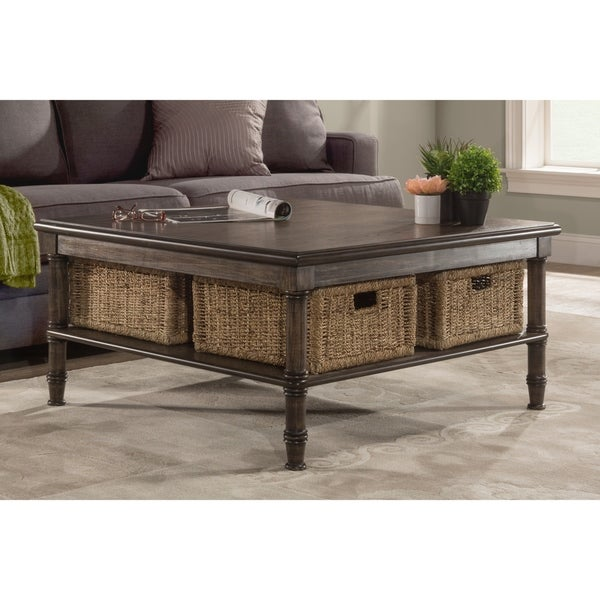 Coffee Table With Baskets: Shop Seneca Coffee Table