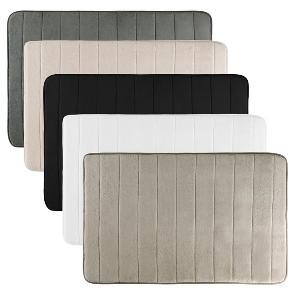 "Non Slip and Fast Dry 2 Piece Memory Foam Bath Mats - Absorbent Hydro Grip Designed Bath Rug By Windsor Home - 31"" x 24.5"""