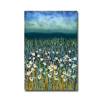 Poems in Blue by Daniel Lager Gallery Wrapped Canvas Giclee Art