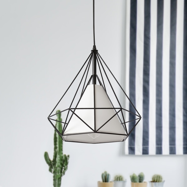 1-Light Cage Mini-Pendant