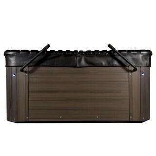 Summit Plus 60 Jet, Titan Hard Cover, 6 Seater Double Lounge, Hot Tub
