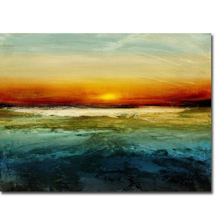 Setting Sun by Jake Messina Gallery Wrapped Canvas Giclee Art