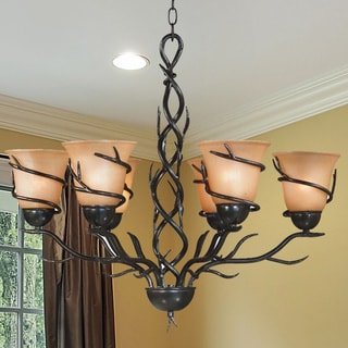 Link to Carbon Loft Edmund 6-light Chandelier - 26x28 Similar Items in Sconces