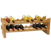 Pine Canopy Lolo 18-bottle Stackable Wine Rack
