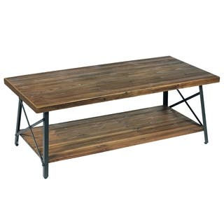 Buy Rustic Coffee Console Sofa End Tables Online At Overstock