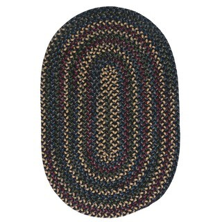 Pine Canopy Colville Multicolored Reversible Braided Area Rug (5' x 7')