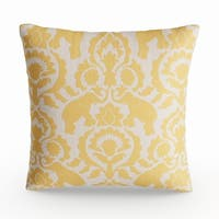 The Curated Nomad Buena Vista Topaz Elephant Throw Pillow