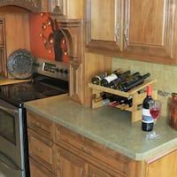 Pine Canopy Arapaho 6-bottle Stackable Wood Wine Rack