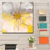 Silver Orchid Wayne 'Painted Petals' Canvas Art