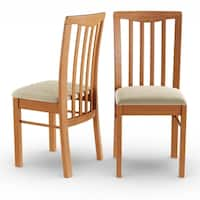 Pine Canopy Siuslaw Light Cherry Dining Chair (Set of 2)