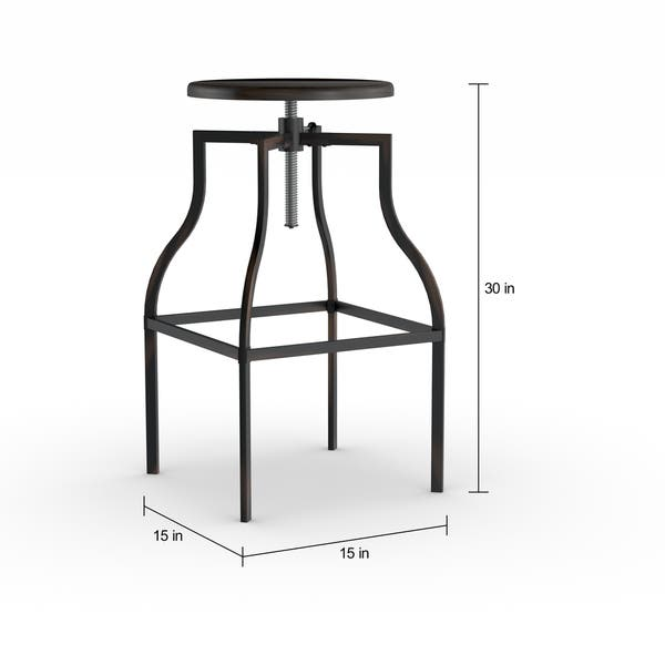 Enjoyable Shop Turner Adjustable Stool On Sale Free Shipping Today Pabps2019 Chair Design Images Pabps2019Com