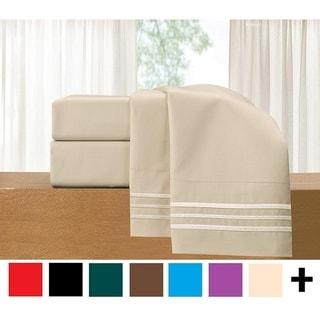Link to Porch & Den Briggs Deep Pocket Bed Sheet Set Similar Items in Bed Sheets & Pillowcases
