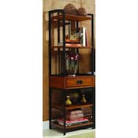 Pine Canopy Olympic Distressed Oak Media Tower