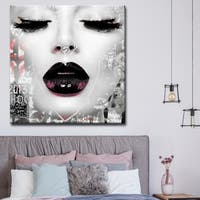 Silver Orchid Welles Urban Fashion Canvas Art