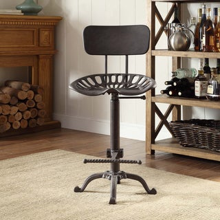ASSEMBLY REQ CAST IRON FARM TRACTOR SEAT BAR STOOL