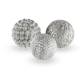 Silver Orchid Kerr Silver Balls (Set of 3)
