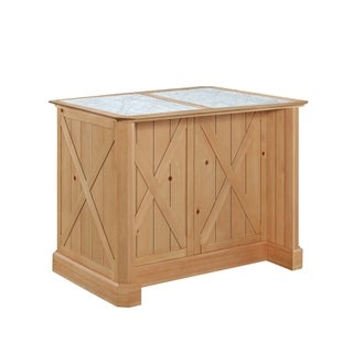 The Gray Barn Stormy Thistle Kitchen Island and Stools
