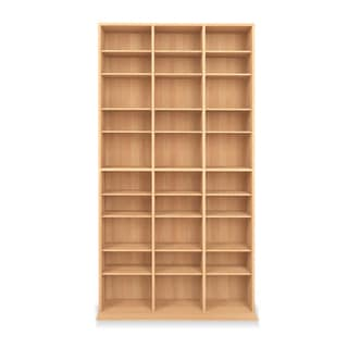 Link to Porch & Den Mansfield Oskar Media Tower 1080 CD/504 DVD Cabinet Similar Items in Horizontal Shelves