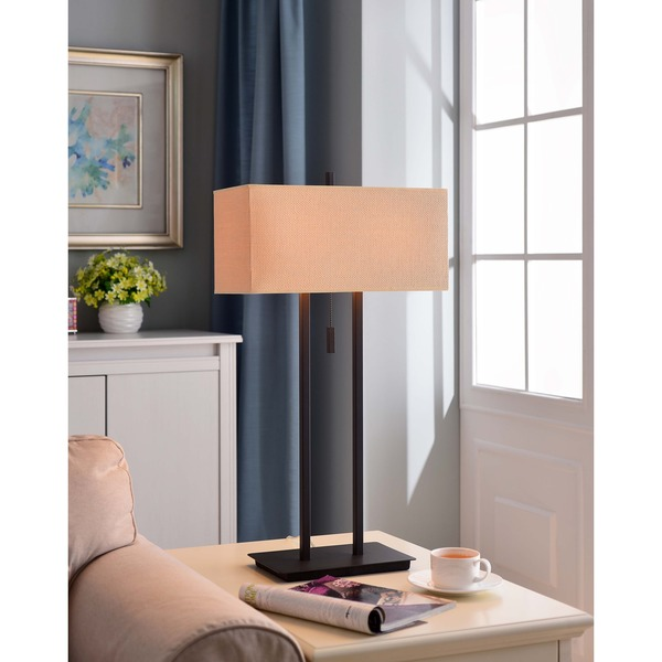 Clay Alder Home Susitna 29-inch Bronze Table Lamp