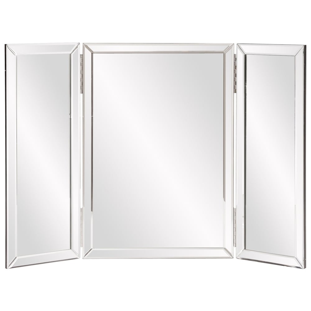 Copper Grove Bromley Trifold Vanity Mirror Silver Overstock 20254762