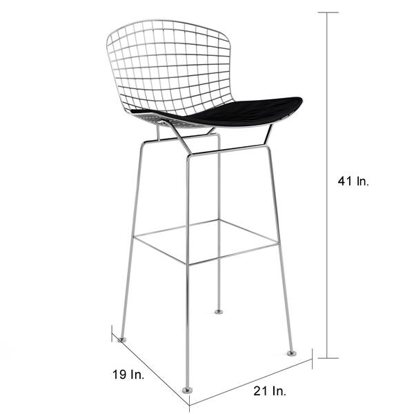 Admirable Shop Porch Den Aldrich Cushioned Aluminum Bertoia Style Ocoug Best Dining Table And Chair Ideas Images Ocougorg