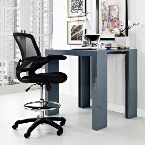 Porch & Den Williamsburg Veer Drafting Chair