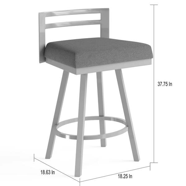 Pleasant Shop Strick Bolton Hudson 30 Inch Bar Stool Swivel Metal Gmtry Best Dining Table And Chair Ideas Images Gmtryco