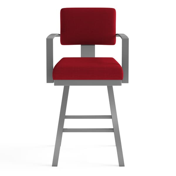 Wondrous Shop Amisco Akers Counter Swivel Metal Stool 26 Inch Free Creativecarmelina Interior Chair Design Creativecarmelinacom