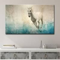 Clay Alder Home 'Equestrian Saddle Ink PSVIII' Canvas Wall Art