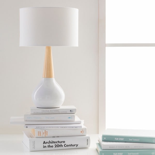 Carson Carrington Tollose Contemporary Evan Table Lamp