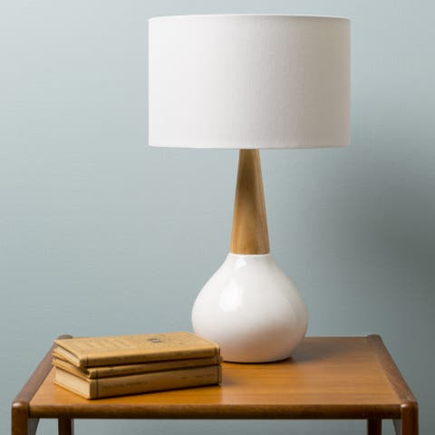 Carson Carrington Tollose Contemporary Evan Table Lamp