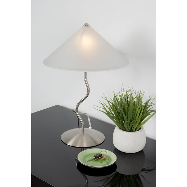 Porch & Den Foresthill Contemporary Touch Table Lamp