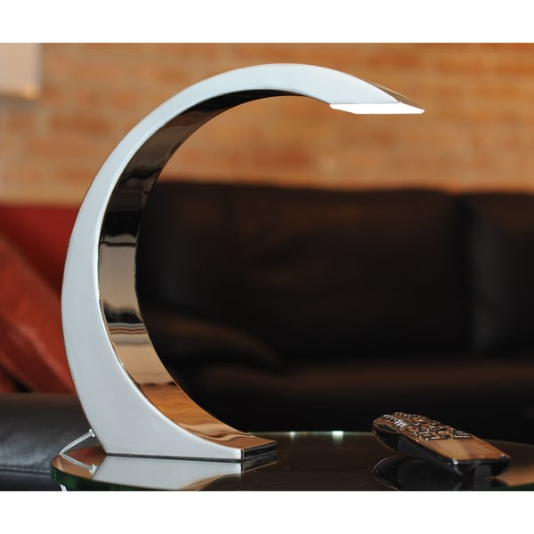 Clay Alder Home Foresthill Element Contemporary LED Touch Table Lamp