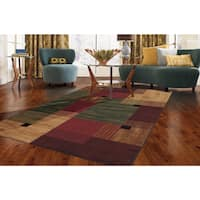 Clay Alder Home Bethany Color Block Multi Rug - 6' x 9'