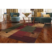 Copper Grove Whinlatter Color Block Area Rug