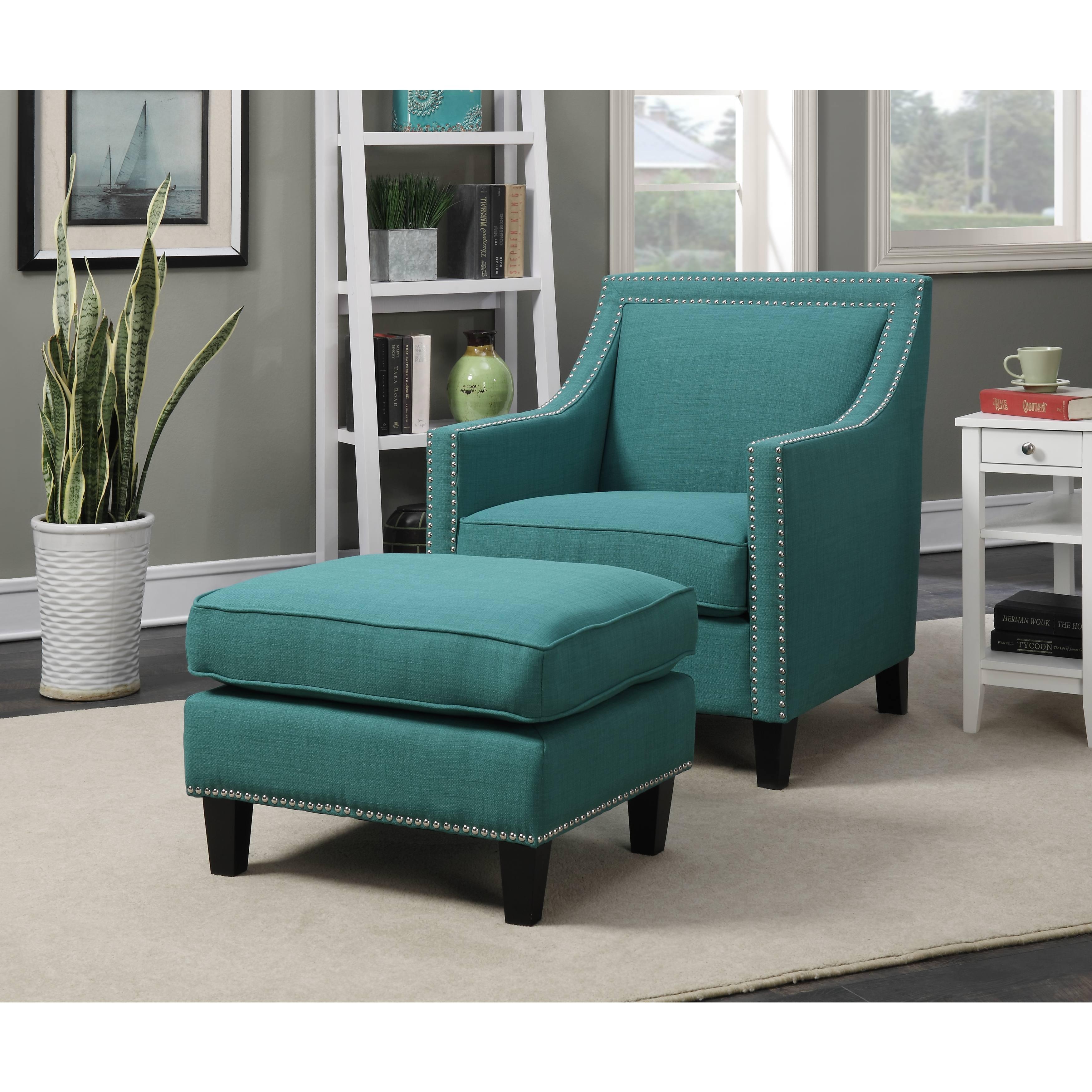 separation shoes d8c17 05d54 Chair & Ottoman Sets, Blue Living Room Chairs | Shop Online ...