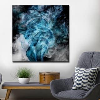 Porch & Den Tristan Scott 'Glitzy Mist XIV' Canvas Art