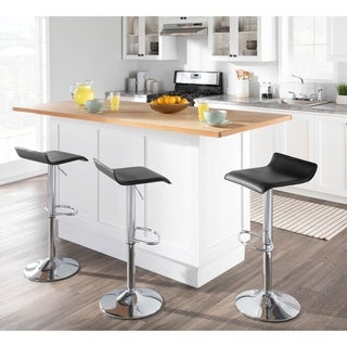 Porch & Den Tower Contemporary Ale Adjustable Barstools (Set of 2)