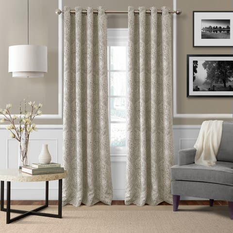 Porch & Den Patrick Room Darkening Grommet Top Curtain Panel
