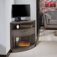 The Gray Barn Elsinora Multi-Shelf Corner TV Stand