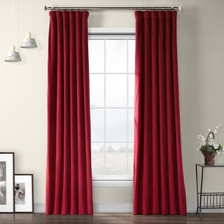 Link to Exclusive Fabrics Heritage Plush Velvet Sing Curtain Panel Similar Items in As Is