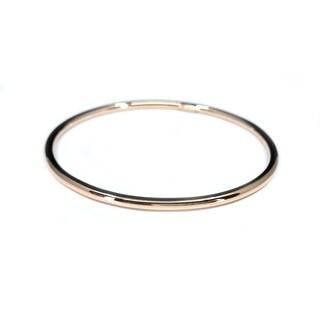 Rose Plated Bracelet , size 24.8