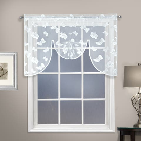 Luxury Collection Madame Semi-Sheer Swagger - 38 inches - 38 inches