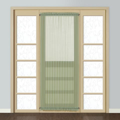 Luxury Collection Monte Carlo Sheer Single Curtain Panel