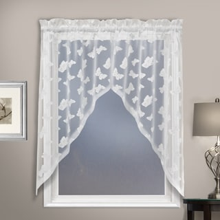 Luxury Collection Madame Semi-Sheer Single Curtain Panel - 36 inches