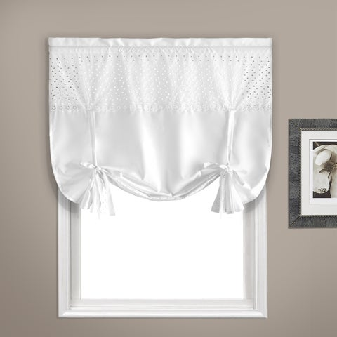 "Vienna Curtain Topper 40"" X 63"" White"