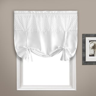 "Vienna Curtain Topper 40"" X 63"" White"