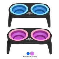 Elevated Pet Bowls with Non Slip Stand - 16 Oz