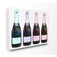Stupell Industries Rainbow Champagne Wall Art