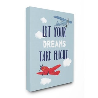 Stupell Industries Let Your Dreams Take Flight Wall Art